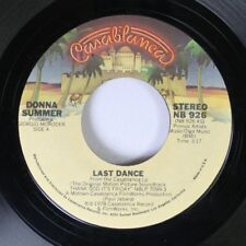 Soul 45 Donna Summer - Last Dance / With Your Love On Casablanca 7""