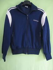 Veste Adidas Femme Marine Vintage 80'S Jacket Tracksuit Trefoil - 46