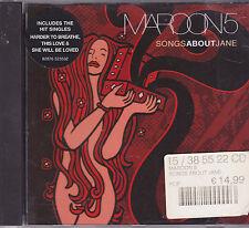 Maroon 5-Songs About Jane cd album