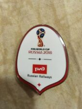 2018 World Cup Russia Railway Official Enamel Badge