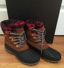 NWT J Crew Women's 11 Perfect Winter Arctic Tall Boot Glazed Pecan #H1891 Retail