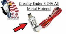 Creality Ender 3 24V Hotend Upgrade All Metal 40 WATTS !! 3D Printer upgrade USA