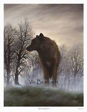 'Breaking Dawn' Limited Edition Wolf Print. New release
