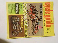 OCTOBER 1967 CYCLE GUIDE MAGAZINE,HI HO SILVER,50CCS HONDA 450,GREEVES360,250,