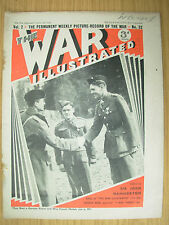 WAR ILLUSTRATED MAG No 32 APRIL 12th 1940 LANCASHIRE FUSILIERS WIN FRENCH MEDALS