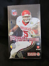 2008 TOPPS FOOTBALL ROOKIE PROGRESSION FACTORY SEALED HOBBY BOX. 20 PACKS