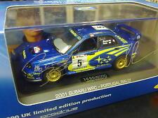 IXO Subaru Impreza WRC 2001 1:43 #5 Burns / Reid Rallye de Portugal