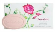 Crabtree Evelyn ROSEWATER Triple Milled Soap  3x 85g   NEW IN BOX