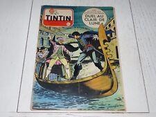 TINTIN 24/03 1955 N°335 HERGE AFFAIRE TOURNESOL DAN COOPER WEINBERG JEAN GRATON