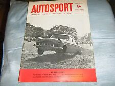 1958 NATIONAL SIX HOURS RELAY SPEEDWELL AUSTIN A35 GRAHAM HILL MORGAN PLUS FOUR