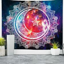 "59""Celestial Wall Hanging Tapestry Art Decoration Bedroom Living Room Picnic Mat"