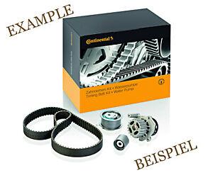 Timing Belt + Pulley Water Pump KIT CONTITECH Fits RENAULT DACIA 1.5L V6 V8 L4