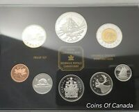2003 Canada 8 Coin Prestige Silver PROOF Set with COBALT Dollar #coinsofcanada