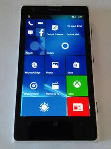 "Nokia Lumia 1020 32GB Unlocked GSM Phone 41MP Camera 4.5"" White Windows 10"