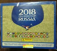1 sealed box 100 packs 500 stickers Panini World Cup Russia 2018 (Kylian Mbappe)