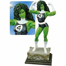 MARVEL PREMIER COLLECTION SHE-HULK STATUE #235 2005 FANTASTIC FOUR AVENGERS Bust
