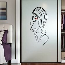 Vinyl Decal Hot Sexy Woman Modeling Girl Bathroom Spa Salon Wall Sticker 2332