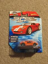 Hot Wheels Speed Machines Ford GTX1 Orange MOC 2009 See My Store