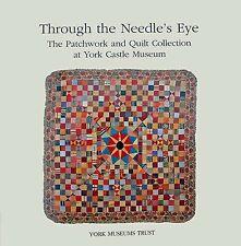 Antico Patchwork Trapunte libro con la raccolta del Museo Castello di York