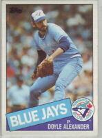 1985 Topps Baseball Toronto Blue Jays Team Set