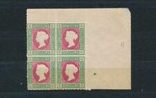 Helgoland 6 Schilling Victoria 1867** Viererblock Michel 4 signiert (S18164)