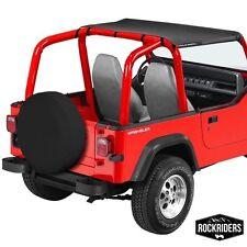 1992-1995 Jeep Wrangler Bikini Bimini Top in Black Denim 92815
