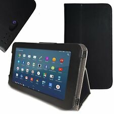 """KuVest Black Slim Folio Case Cover for 7"""" NeuTab G7 4G LTE Air 7 Android Tablets"""