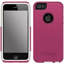 NEW OtterBox Pink & White Commuter Series Case for Apple iPhone 5 & 5s Free S/H