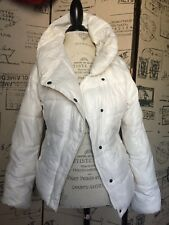 OLD NAVY Ivory Down Puffer Fleece Lined Coat Jacket Sz M