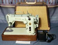 Vintage Singer 319W Sewing Machine Sea-Foam Green w/ Piano Keys