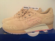 ASICS TIGER GEL LYTE III 3 JUICE CLOT US 10.5 UK 9.5 43.5 SAND CLAY BEIGE SUEDE