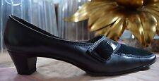 BALLY Damen Pumps 3582 ROMY antik made Switzerland TRUE VINTAGE Schuhe schwarz