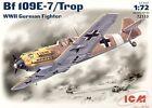 ICM 1/72 Messerschmitt Bf 109 E-7 Tropical # 72133