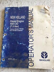 New Holland 456 CID Engine Operators Manual