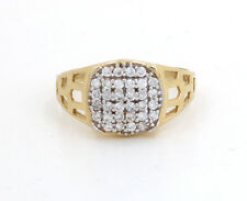 Solid 14K Gold Mens Ring