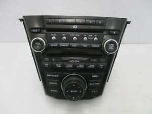10 11 12 13 Acura MDX Radio AM FM XM CD DVD MP3 Navigation Face ID 2PF1 OEM