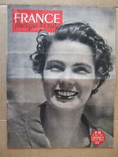 FRANCE MAGAZINE 10 DECEMBRE 1950 N° 169. L'HELICOPTERE JUAN DE LA CIERVA