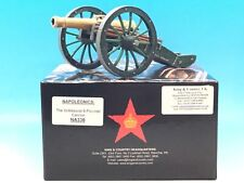 KING & COUNTRY NAPOLEONICS THE GRIBEAUVAL 8 POUNDER CANNON NA336 1/30