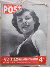 PICTURE POST - 16 JUNE 1951 - THE TENNIS GIRL GOES FEMININE