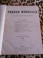 La Presse Médicale 13e Année complète - 1905