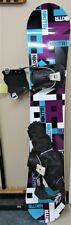 Nikita Chickita Snowboard w/ Flow Bindings & Carry Bag