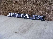 original Emblem Heckemblem Schriftzug VW Jetta 2 II TX Typ19E US USA GLI 16V G60