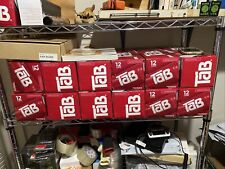 Tab Cola 12-Pack TAB Soda Soft Drinks Unopened 4-12packs Expires 3/29/2021