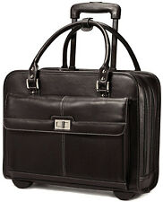 Samsonite Women's Mobile Office Wheeled Laptop Briefcase - Black