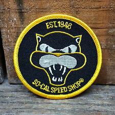 SO CAL JACKET PATCH BLACK CAT RAT HOT ROD CUSTOM CHOPPER BOMBER NOSE ART STYLE