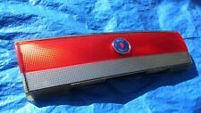 96-98 Saab 900 OEM Convertible Trunk Center Reflector Decor Panel with Emblem