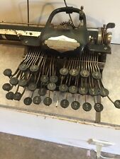 blickensderfer typewriter No.5 late 1800s black color  needs repairs