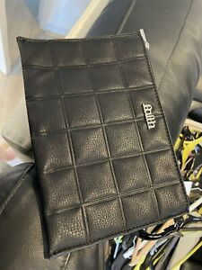 Black Faith clutch bag