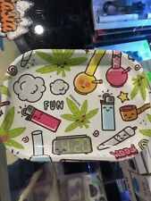 """Fun High Life Tobacco Rolling Tray 6""""x7"""" *Authorized Dealer*"""