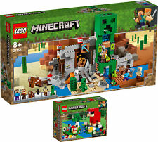 LEGO Minecraft 21155 21153 Die Creeper™ Mine Die Schaffarm Steve  N8/19